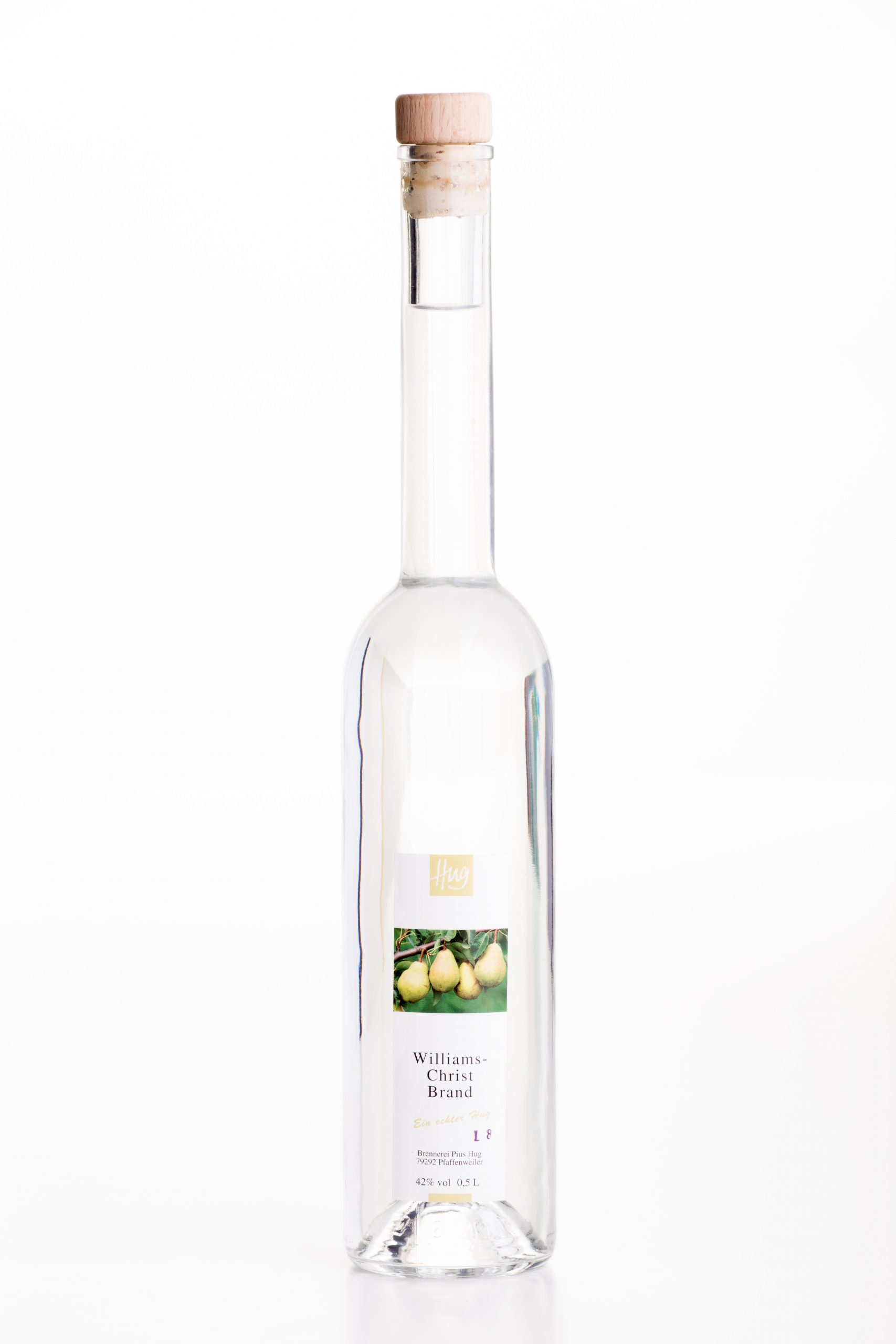Williams Christ Brand 0,5 Liter | Weingut Hug in Pfaffenweiler bei Freiburg im Breisgau